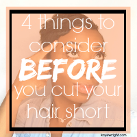 4 Things To Consider Before You Cut Your Hair