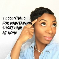 5 Essentials For Maintaining Short Hair At Home