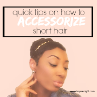 How To Accessorize Short Hair For Spring