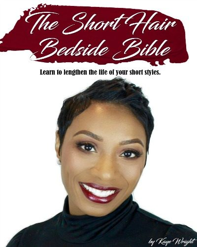 Short Hair Bedside Bible eBook | Kaye Wright