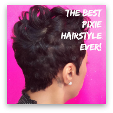 The BEST Pixie Hairstyle Ever!