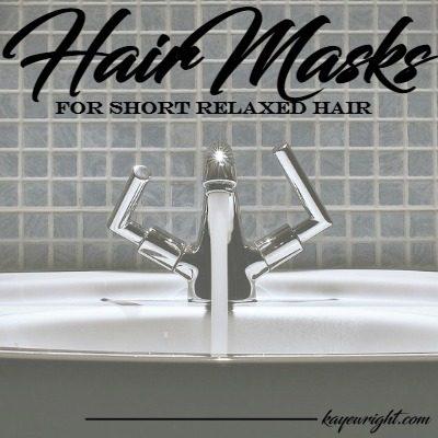hair masks for short relaxed hair