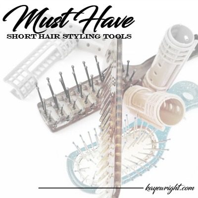 Must Have Tools For Short Hair Care At Home | October 25, 2016