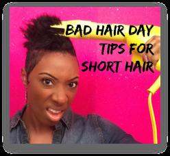 Bad Hair Day Tips for Short Hair