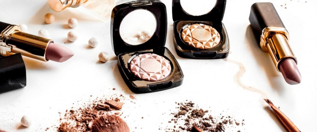 crushed cosmetics – sized