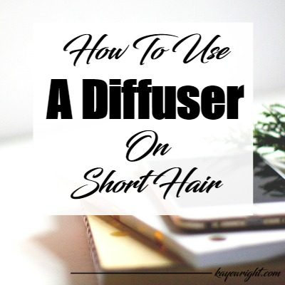 How To Use A Diffuser On Short Hair | January 16, 2017