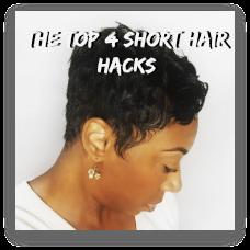 The TOP 4 Short Hair Hacks for Short Hair