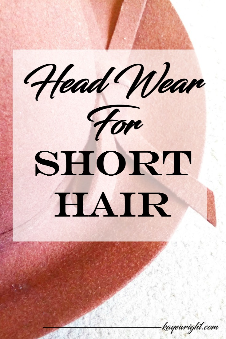 head wear for short hair
