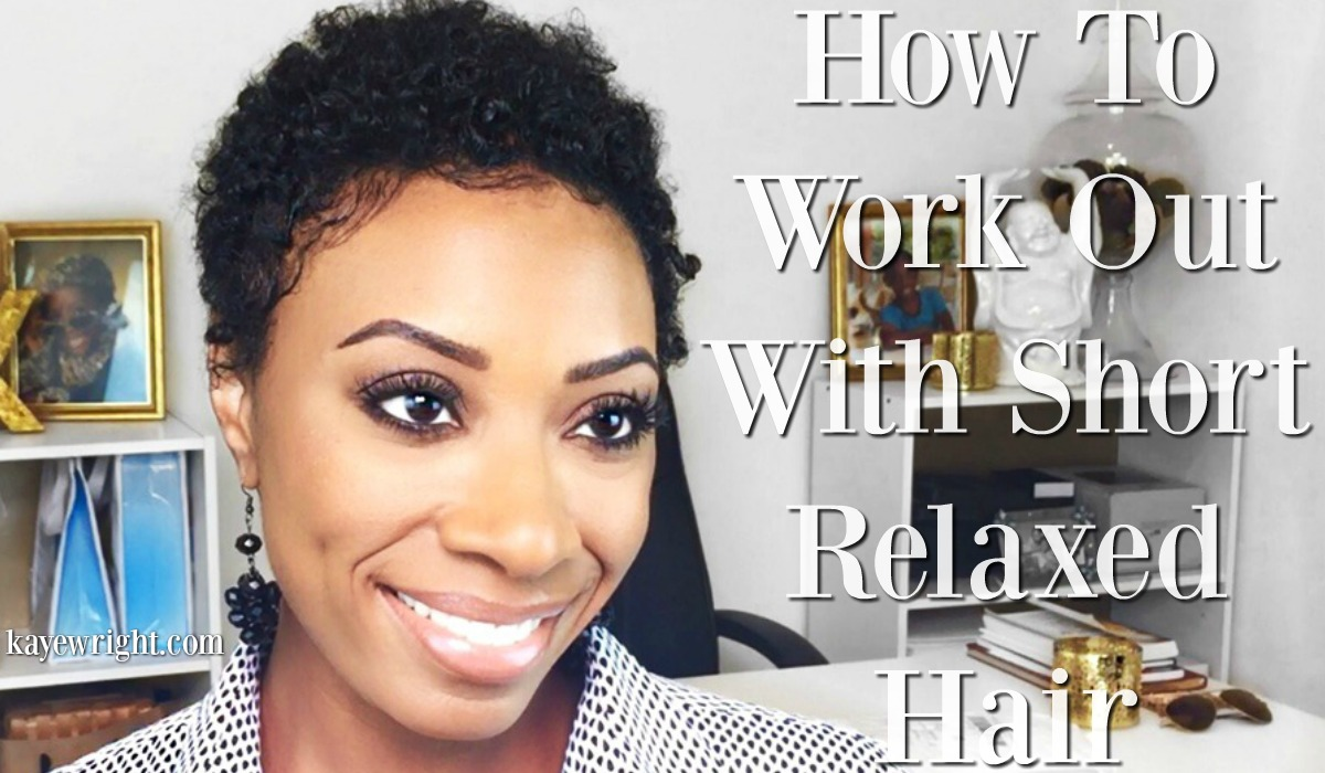 How To Keep Natural Hair Straight While Working Out
