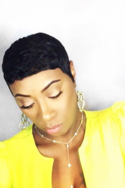 Keke Palmer Inspired Short Hairstyle