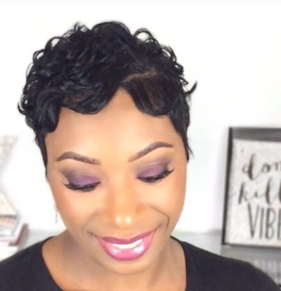Pixie Cut with Finger Waves | Short Hairstyle |September 8, 2016