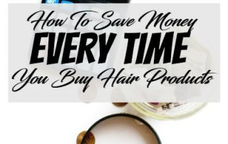 save money every time you buy hair products