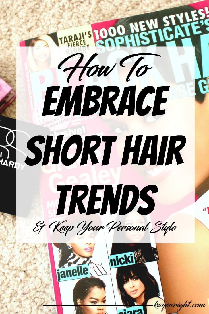 short hair trends