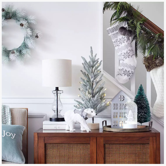 holiday home decor from target
